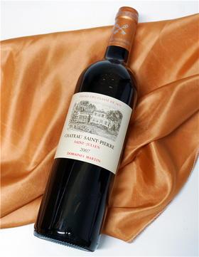 【闪购】圣皮尔酒庄干红葡萄酒 2007/Chateau Saint Pierre 2007