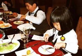 【3月10日 】小小实践家系列--来机器人西餐厅DIY比萨,学西餐礼仪