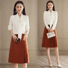2018春装新款两件套韩版时尚衬衫 半身裙套装GZHY-C133C76891