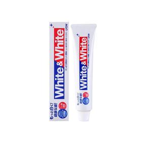 日本狮王White&&&&White 特效美白牙膏150g