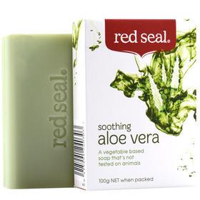新西兰Red Seal红印芦荟天然植物香皂