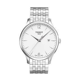 天梭(TISSOT)手表 俊雅系列全钢石英男表T0636101103700