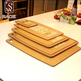SAGE菜板美国进口防菌砧板环保辅食水果切菜板不发霉实木面案板