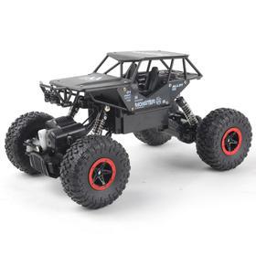 小孩遥控汽车越野四驱车合金攀爬男孩充电玩具模型车电动赛车儿童