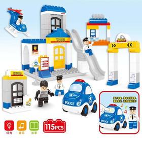 兼容乐高积木拼装大颗粒 益智玩具