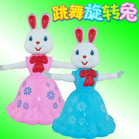 儿童声光兔宝宝爬行万向兔子会走会动的动物玩具1-2-3岁小孩玩具