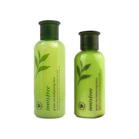韩国悦诗风吟绿茶保湿水乳两件套装