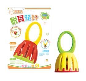 赞宝贝悦耳笼铃 婴幼儿益智早教玩具 宝宝手抓摇铃玩具V336