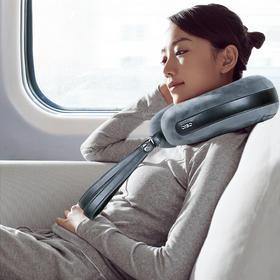 自动充气,自动按摩,颈枕界的黑科技!倍轻松 iNeck Air 智能按摩空气颈枕,旅行神器,随时随地赶走疲劳