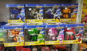 正版超级飞侠变形机器人乐迪酷飞多多小爱包警长卡文变形飞侠玩具