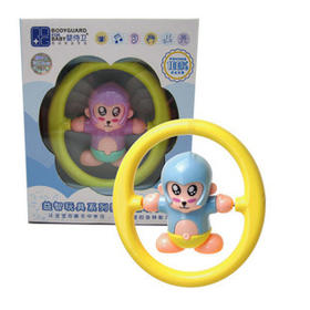 婴侍卫 婴儿玩具手摇铃婴儿翻动摇铃手摇铃翻转摇铃 C206