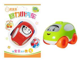赞宝贝可爱卡通回力小汽车 精致小巧便携 宝宝儿童玩具V811