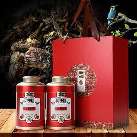 澜沧古茶 金帆 荔枝红茶 云南高山生态特殊中小叶种茶 两罐150g 精美礼盒