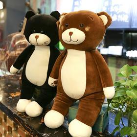 软体羽绒棉猫咪公仔毛绒玩具超大号泰迪熊布娃娃抱枕女生生日礼物