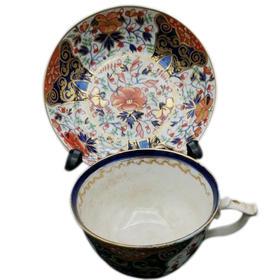 【菲集】 艺术品 早期英国皇家皇冠德比碟杯套装 1830年 陶瓷骨瓷 餐桌摆件餐具 跨境直邮