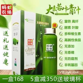 大麦若叶青汁 富铁酵素 膳食纤维 高碱性食品 破壁500目 50袋/盒 5盒送杯子