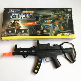 创发3388声光冲锋枪电动玩具枪儿童玩具手枪男孩玩具步枪红外线