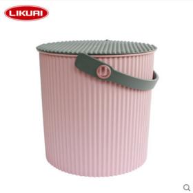 利快日本进口Omnioutil炫彩桶创意多功能收纳桶 多色