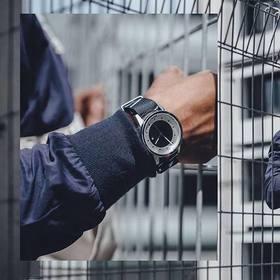 HyperGrand手表哈格新加坡MAVERICK冷钢系列石英表街头时尚男腕表大表盘尼龙表带NWM4HAVO
