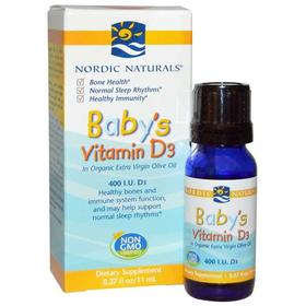 挪威小鱼婴儿童维生素D3新生婴幼儿宝宝VD补钙维D滴剂【新西兰直邮】