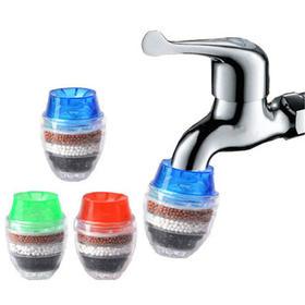 【49选5】家用净水器自来水过滤器 5层过滤水龙头净水器 沸石活性炭过滤