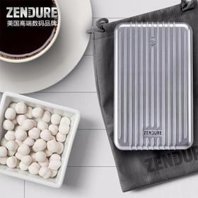 美国 ZENDURE A8 商务高端充电宝 26800毫安大容量快充移动电源 可上飞机 四输出