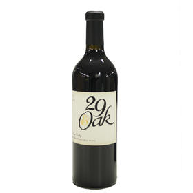美国纳帕谷 NApa Valley RED wine2015 29号橡树纳帕干红葡萄酒