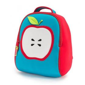 美国Dabbawalla瓦拉包双肩儿童幼儿园男女宝宝3岁+ 超轻书包 苹果