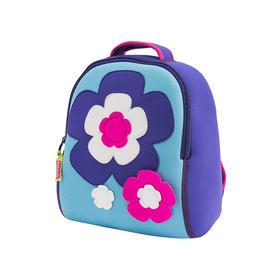 美国dabbawalla瓦拉包儿童书包幼儿园小男孩女童3-45-6岁宝宝背包 超轻书包 花朵款