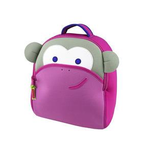 美国Dabbawalla瓦拉包双肩儿童幼儿园男女宝宝3岁+ 超轻书包 女宝卡通猴