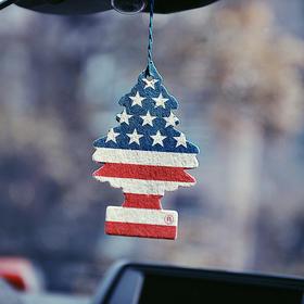 【买6送1  家车两用 畅销60年】美国原装进口little tree小树香片 每一天都清香  除臭净化空气 一片管60天