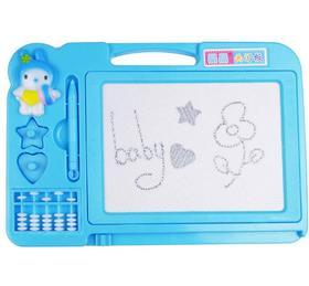 画板磁性塑料画板写字板幼儿益智教具儿童画写板晶晶画写板