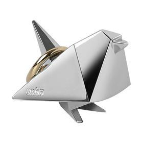 umbra千纸鹤系列动物模型迷你玩偶戒指托可爱桌面摆件首饰收纳架