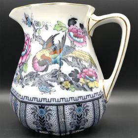 【菲集】1920-1930年 英国制造罗素瓷 中西合璧设计陶瓷罐 跨境直邮