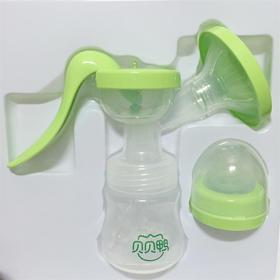 贝贝鸭手动吸奶器 孕妇吸挤乳按摩大吸力开奶C41H