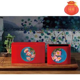 PURELAND青蘭工舍 纸巾盒+遥控器盒