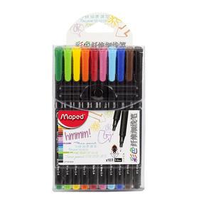 彩色纤维勾线笔