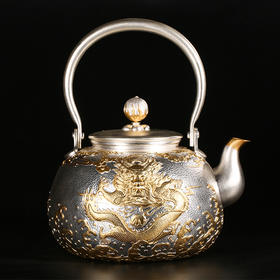 帝王金龙银壶