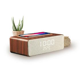 「花一只口红的钱,提升你的生活幸福感」18video定制款 支持手机无线充电的智能蓝牙音箱