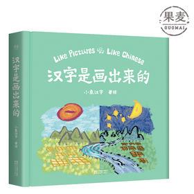 汉字是画出来的 幼儿启蒙汉字书 学前教育 教学参考资料 幼儿启蒙 早教 游戏认字 认知 果麦图书