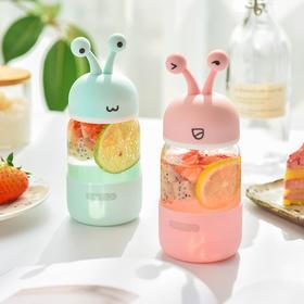 创意可爱蜗牛 玻璃杯  文具