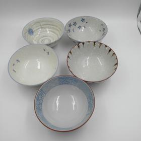 日式家用碗组合5个装