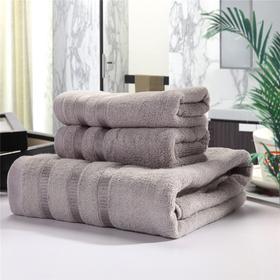 毛巾浴巾 套巾系列 毛巾两条 浴巾一条