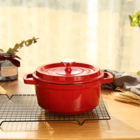 易锅 |经典珐琅锅炖锅 人生中的第一口珐琅锅必选  爆款铸铁锅