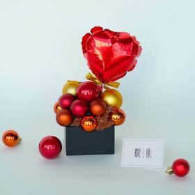 【苹果塔】小彩球创意礼盒摆件新年礼物