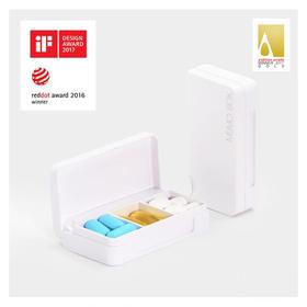 【关心父母】智能药盒Memo Box 及时提醒父母吃药,获红点、iF设计大奖