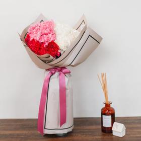 【香橙、蜜桃】单一品种康乃馨花束鲜花花束礼物
