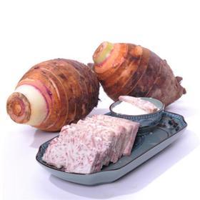 荔浦芋头:软绵香糯,适合蒸着吃,还能做芋丸。