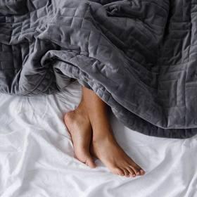 【美国Kickstarter众筹爆品】Gravity weighted blanket重力毯 减压毯 助眠毯 睡眠黑科技