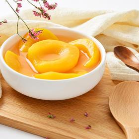 新鲜黄桃罐头 【 砀山特产 黄桃罐头 新鲜美味 Q滑多汁 营养丰富 买10罐送2罐】